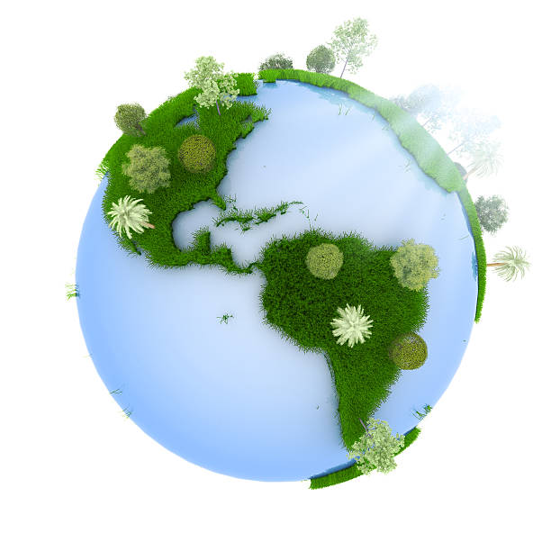 green planet - bioremediation stock photos and pictures