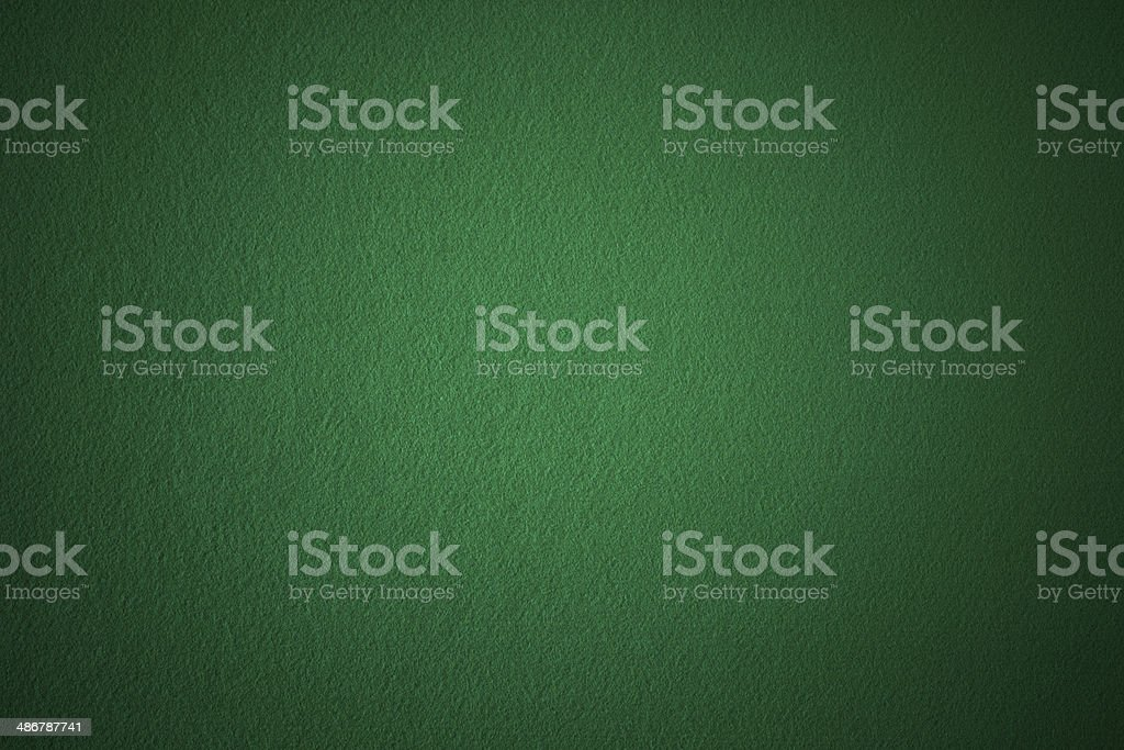 Green poker background stock photo