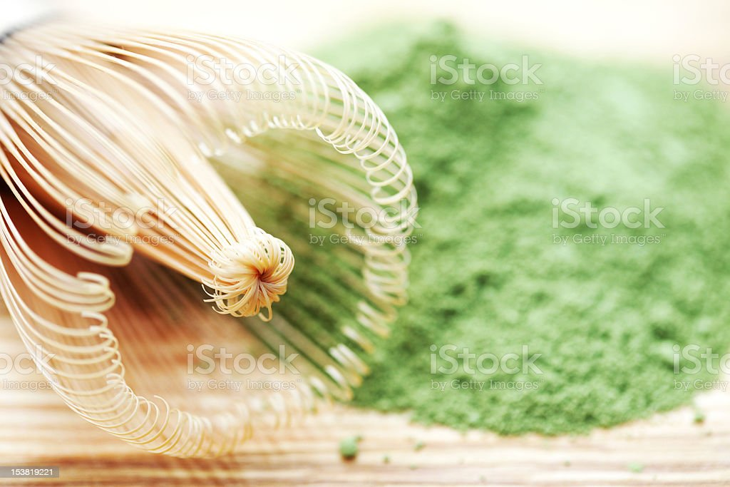 green powder stock photo