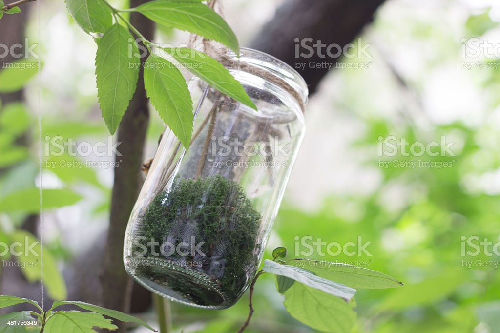 Green power - environmental conservation stock photo