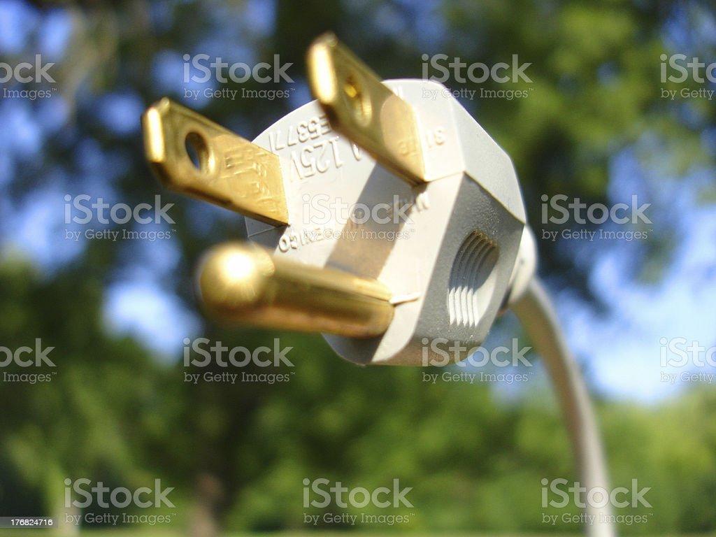 Green Power royalty-free stock photo