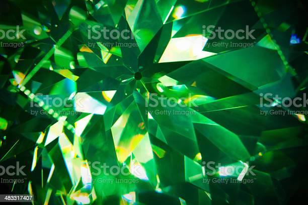 Green Precious Gem Closeup Stock Photo - Download Image Now