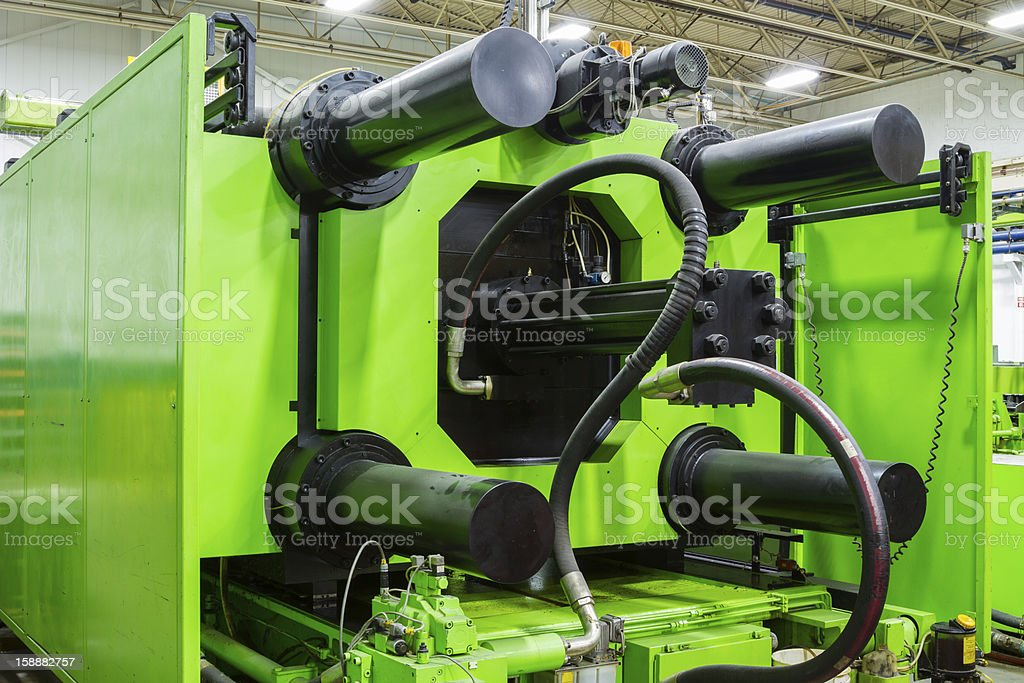 Green Press royalty-free stock photo