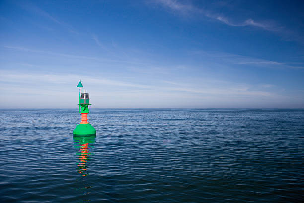 Green, Red and Blue  buoy stock pictures, royalty-free photos & images