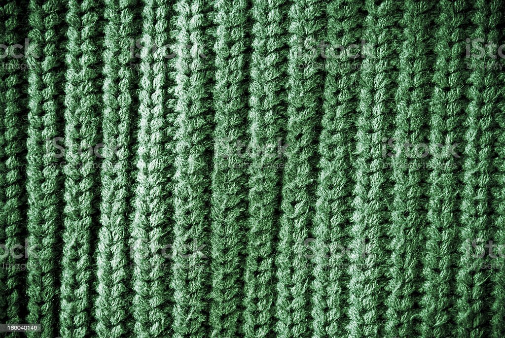Green regular striped and woven material background or texture royalty-free stock photo