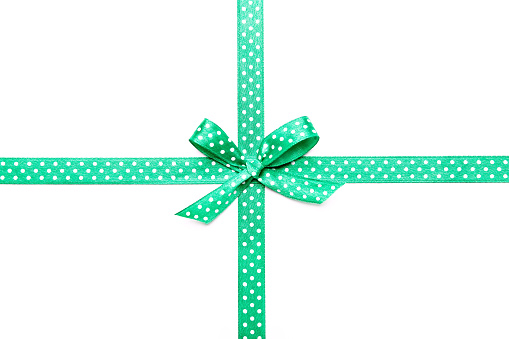 Green Ribbon Stock Photo & More Pictures of Birthday - iStock