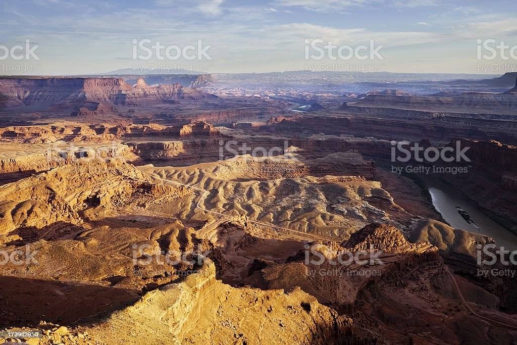 Green River Canyon in Utah royalty-free stock photo