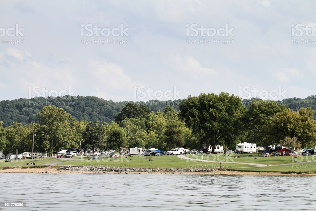 Green River Lake State Park stock photo