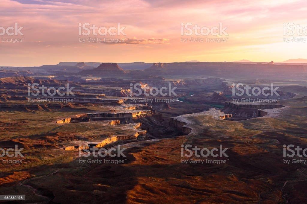 Green River OVerlook Lizenzfreies stock-foto
