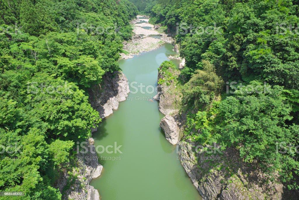 Green River - Royaltyfri Dal Bildbanksbilder