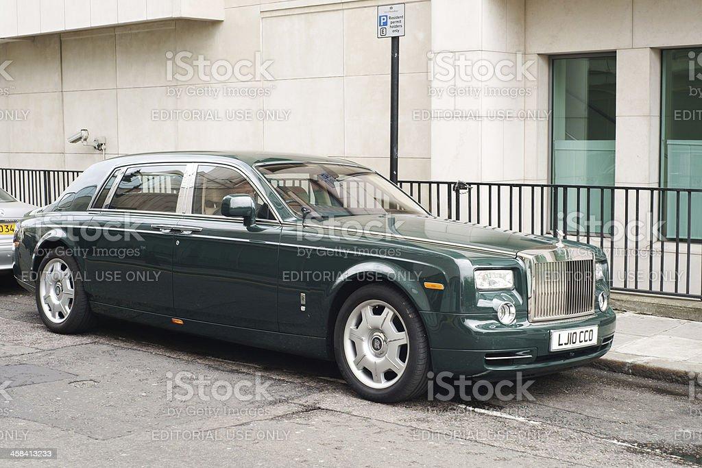 Green Rolls Royce Phantom Stock Photo & More Pictures of ...