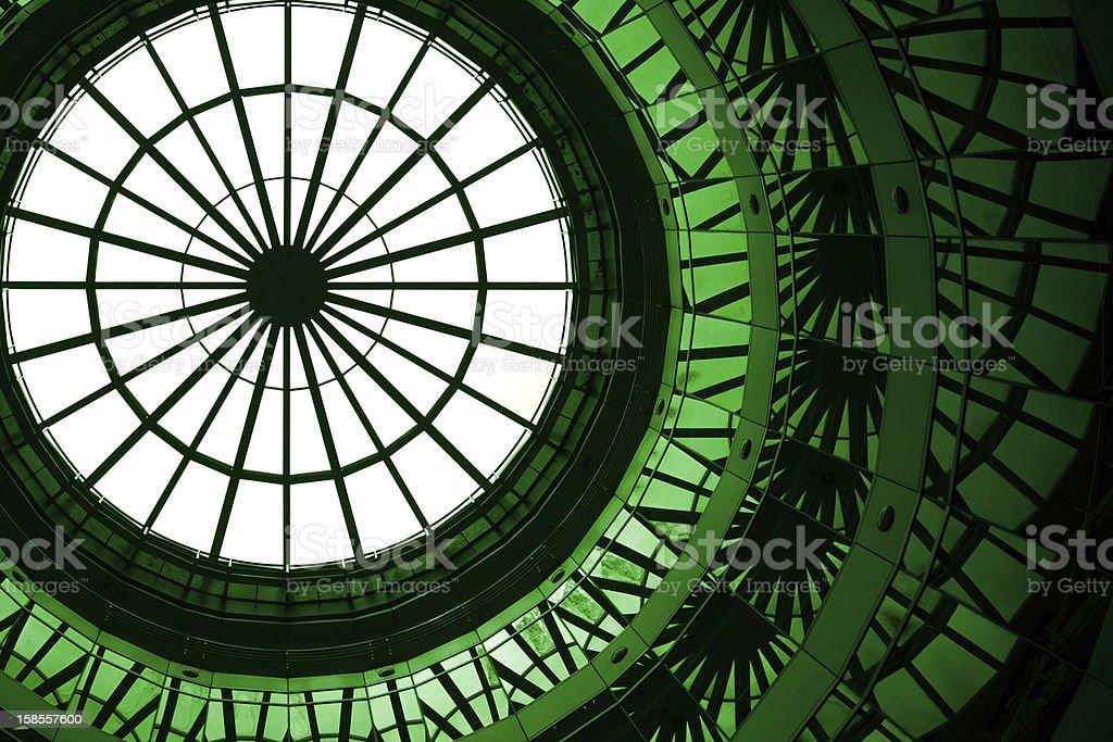 녹색 루프 royalty-free 스톡 사진