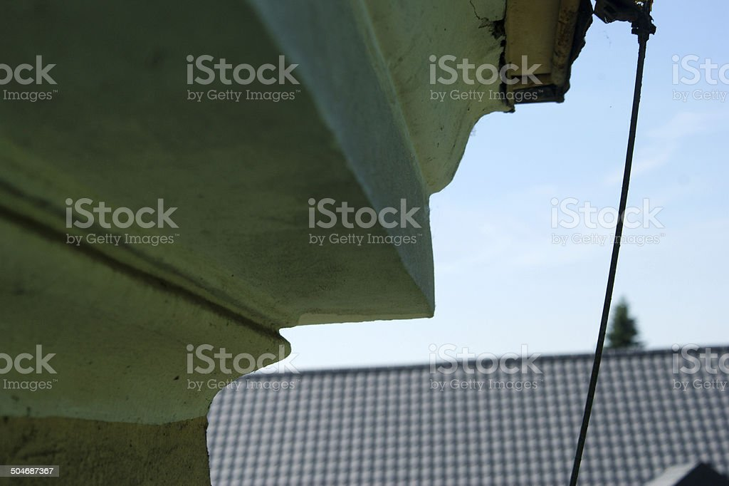 Green roof royalty-free stock photo