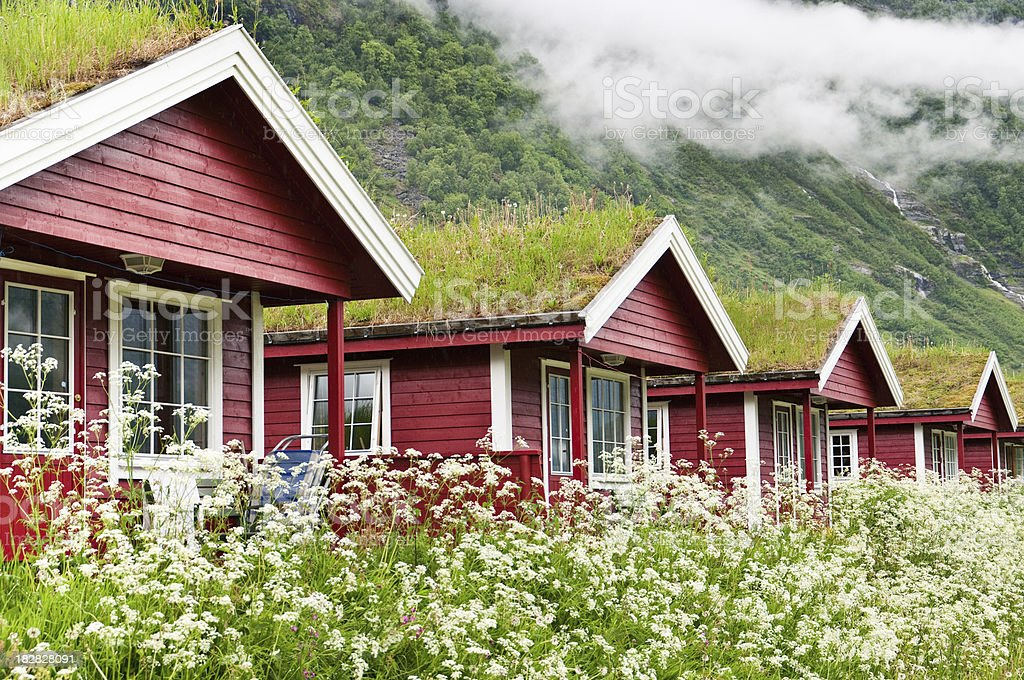 Green Roofs royalty-free stock photo