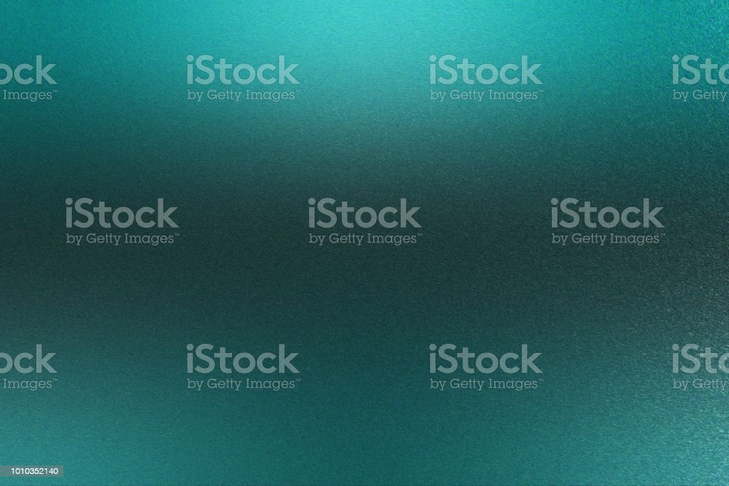 Green rough stainless steel texture, abstract background stock photo