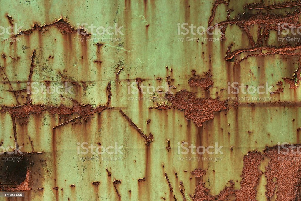 Green rusty background royalty-free stock photo