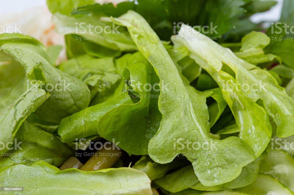 Green salad - healthy food royalty-free stock photo