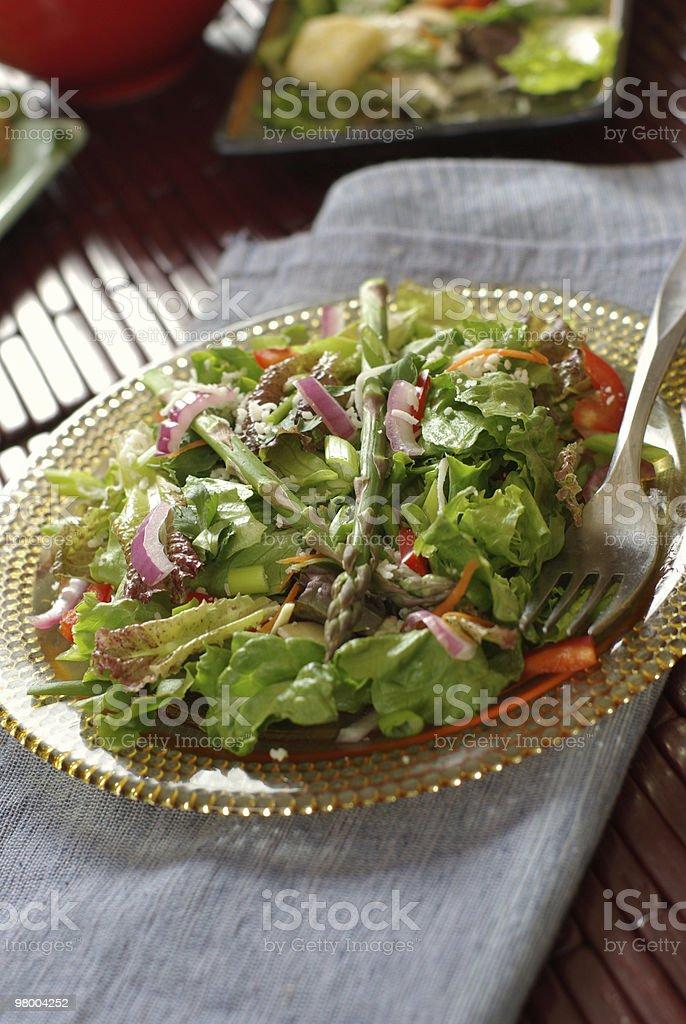 Green Salad royalty free stockfoto