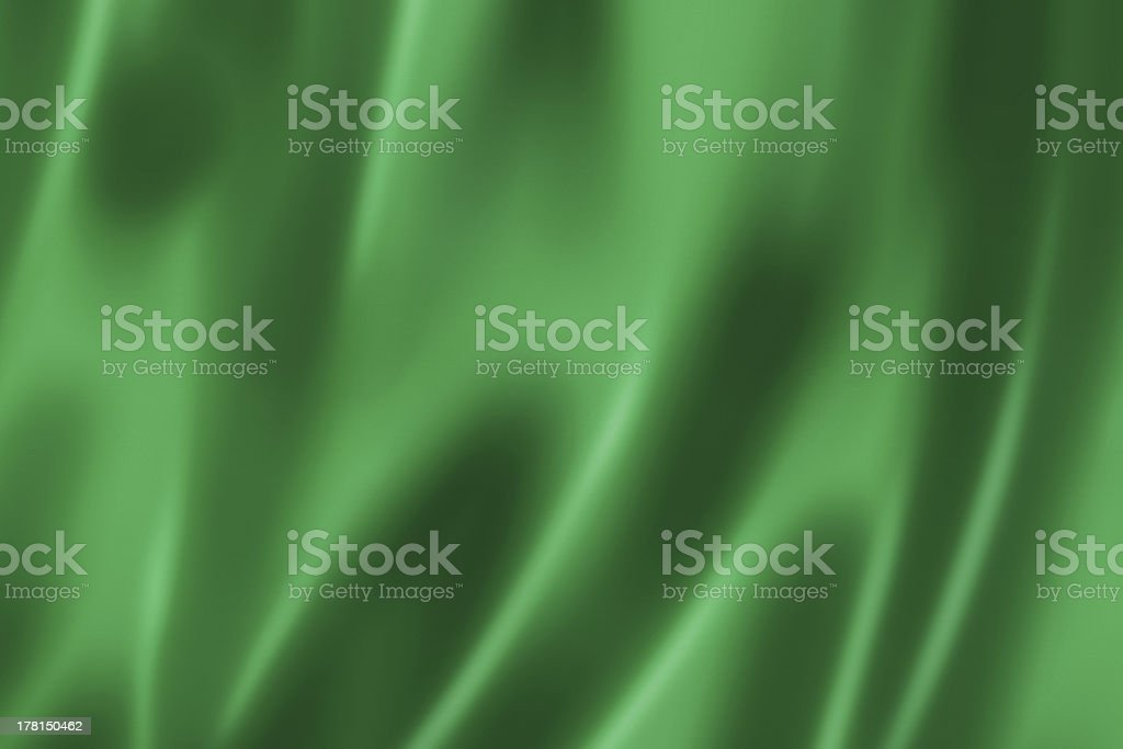Green satin texture stock photo