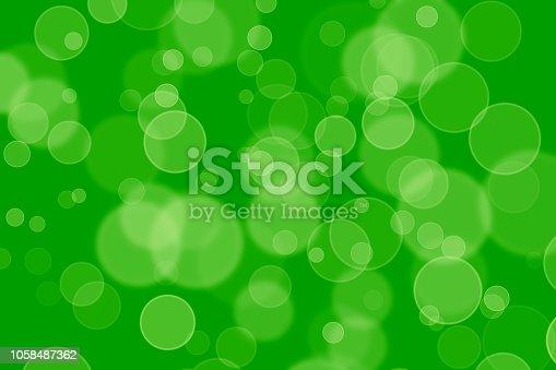 istock Green Screan Bokeh 1058487362