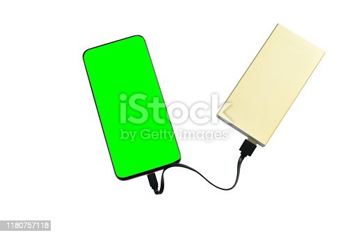 istock green screen mobile phone stabbing in power bank rechargeable battery 1180757118
