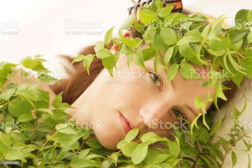 Green Secrets royalty-free stock photo