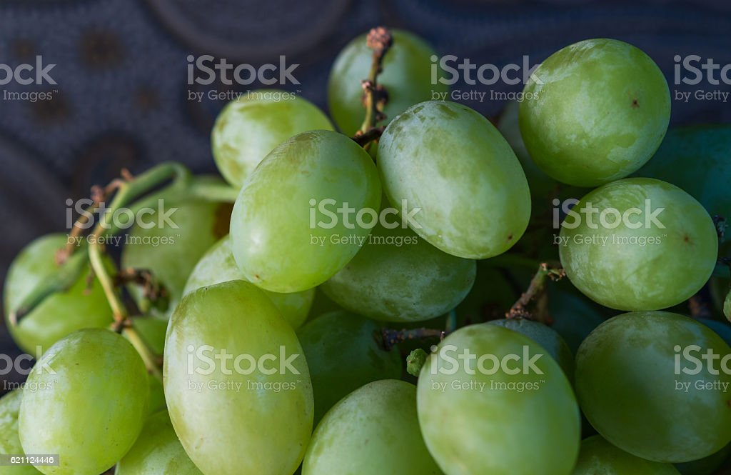 green seedless grapes royalty-free stock photo