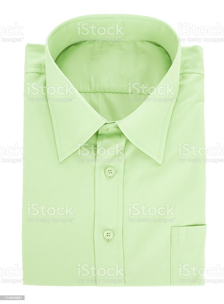 Green Shirt royalty-free stock photo