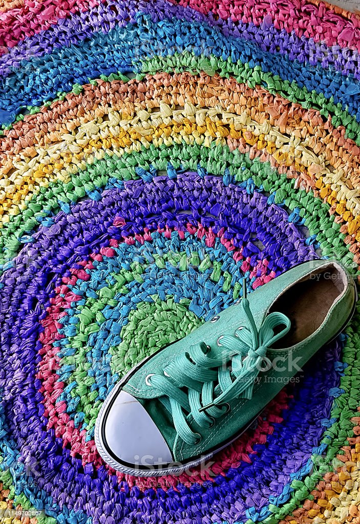 alfombra converse