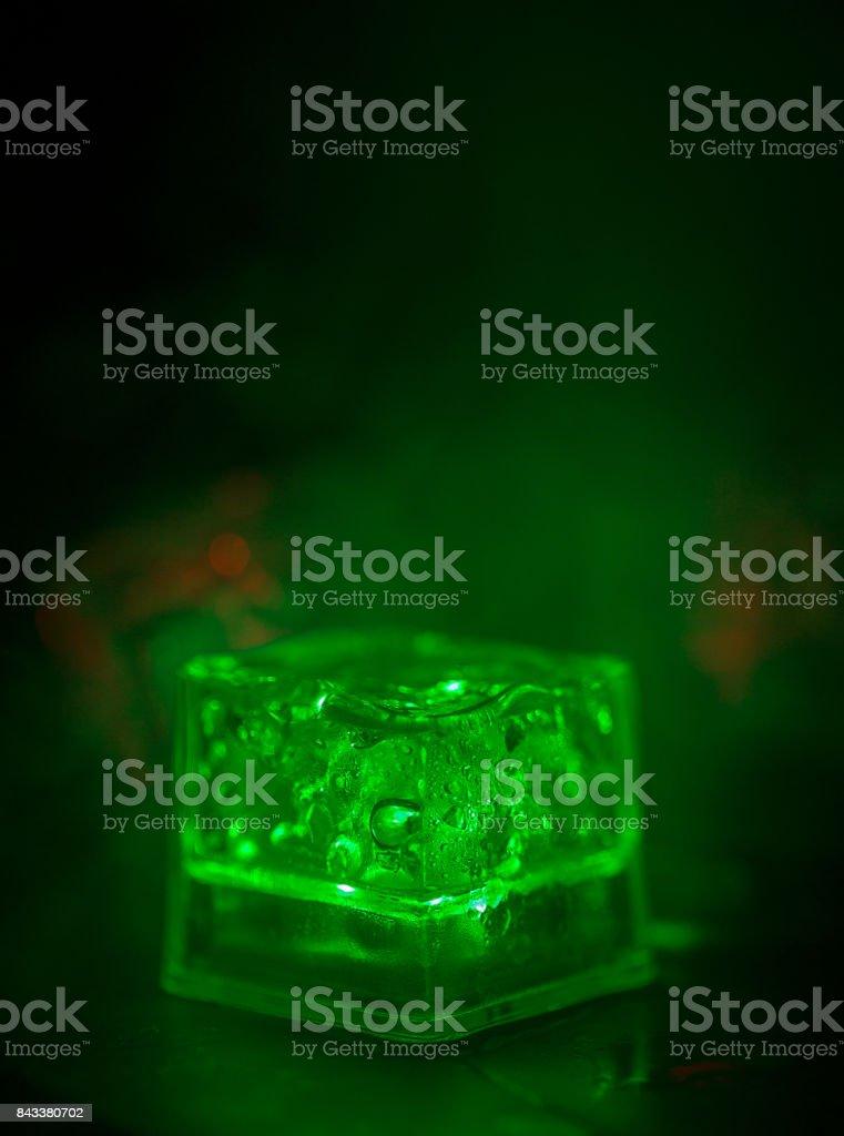 Green smoke stock photo