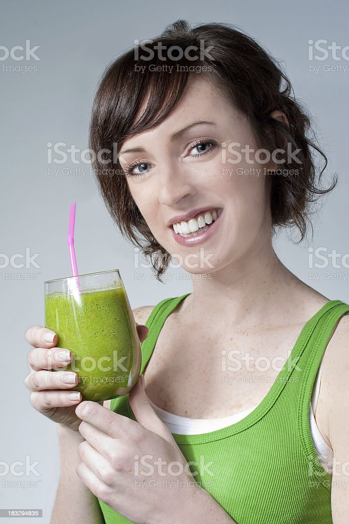 Green Smoothie ! royalty-free stock photo