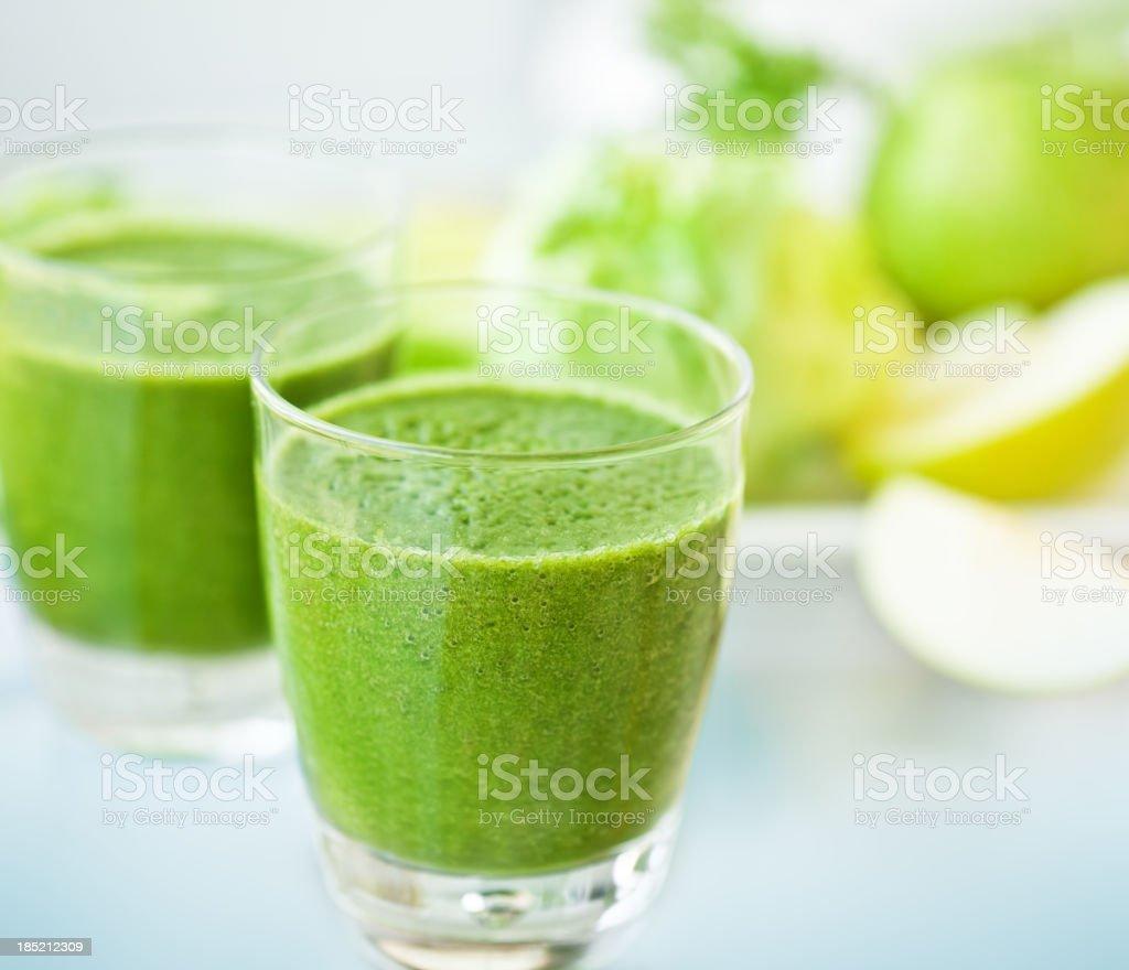 Green smoothie royalty-free stock photo
