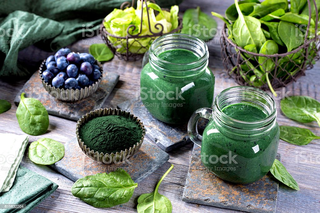 smoothie vert  - Photo