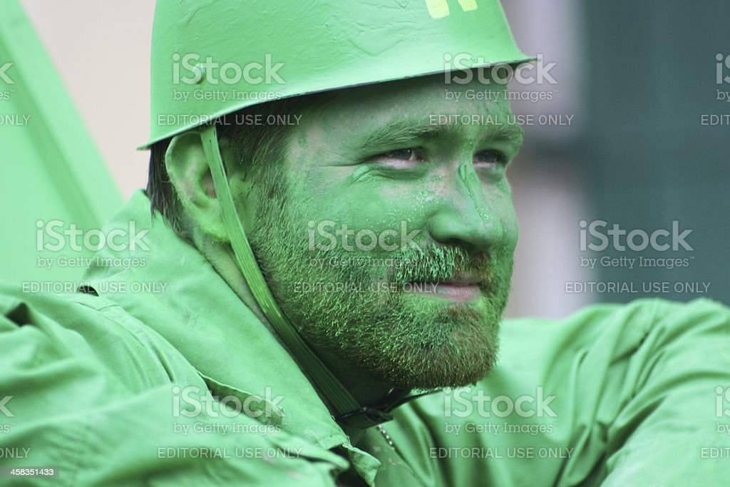 Green Soldier royalty-free stock photo