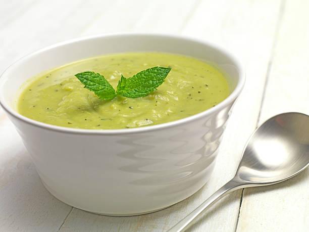 Grün-Suppe – Foto