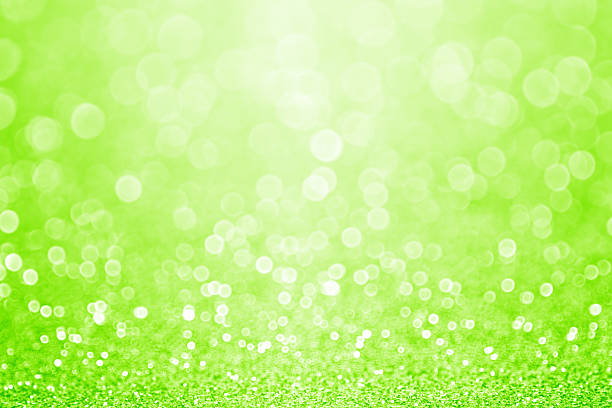 green sparkly glitter background - st patricks day background stock pictures, royalty-free photos & images
