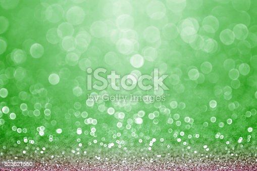 istock Green Sports Field Bokeh Background 523621550