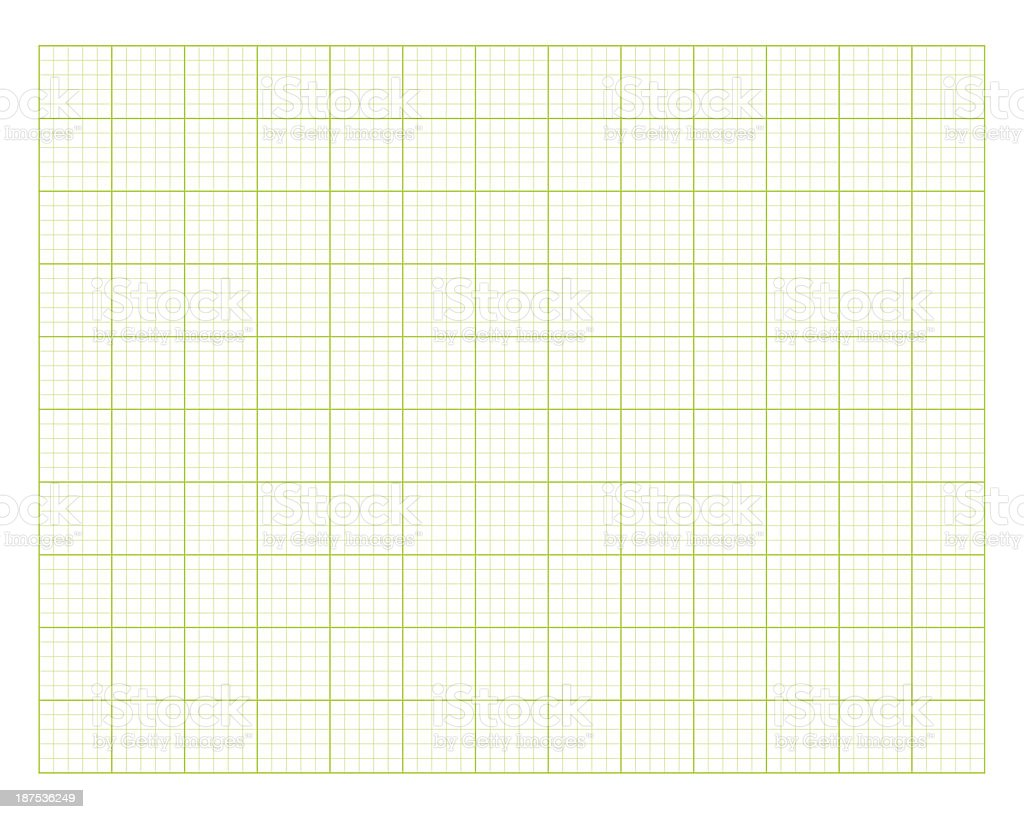 green square graph paper royalty-free stock photo