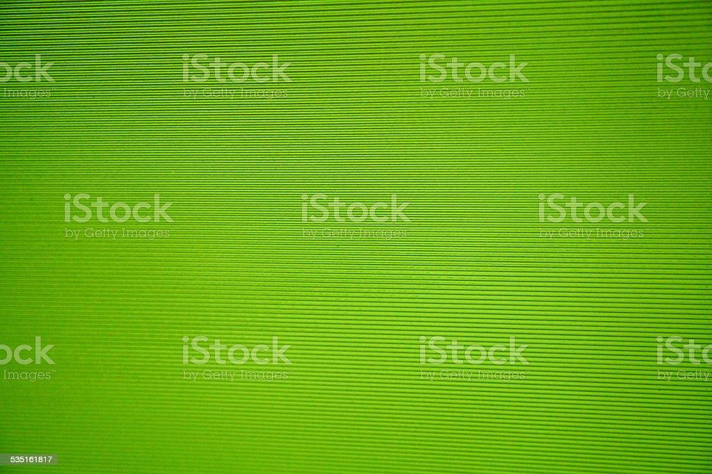 Green sreen stripes parrallel lines semi translucent glass plastic stock photo