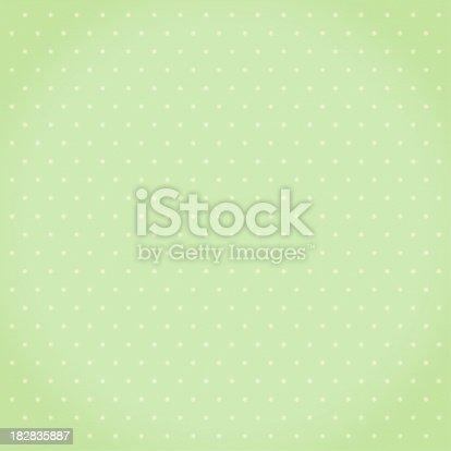 istock Green star pattern 182835887