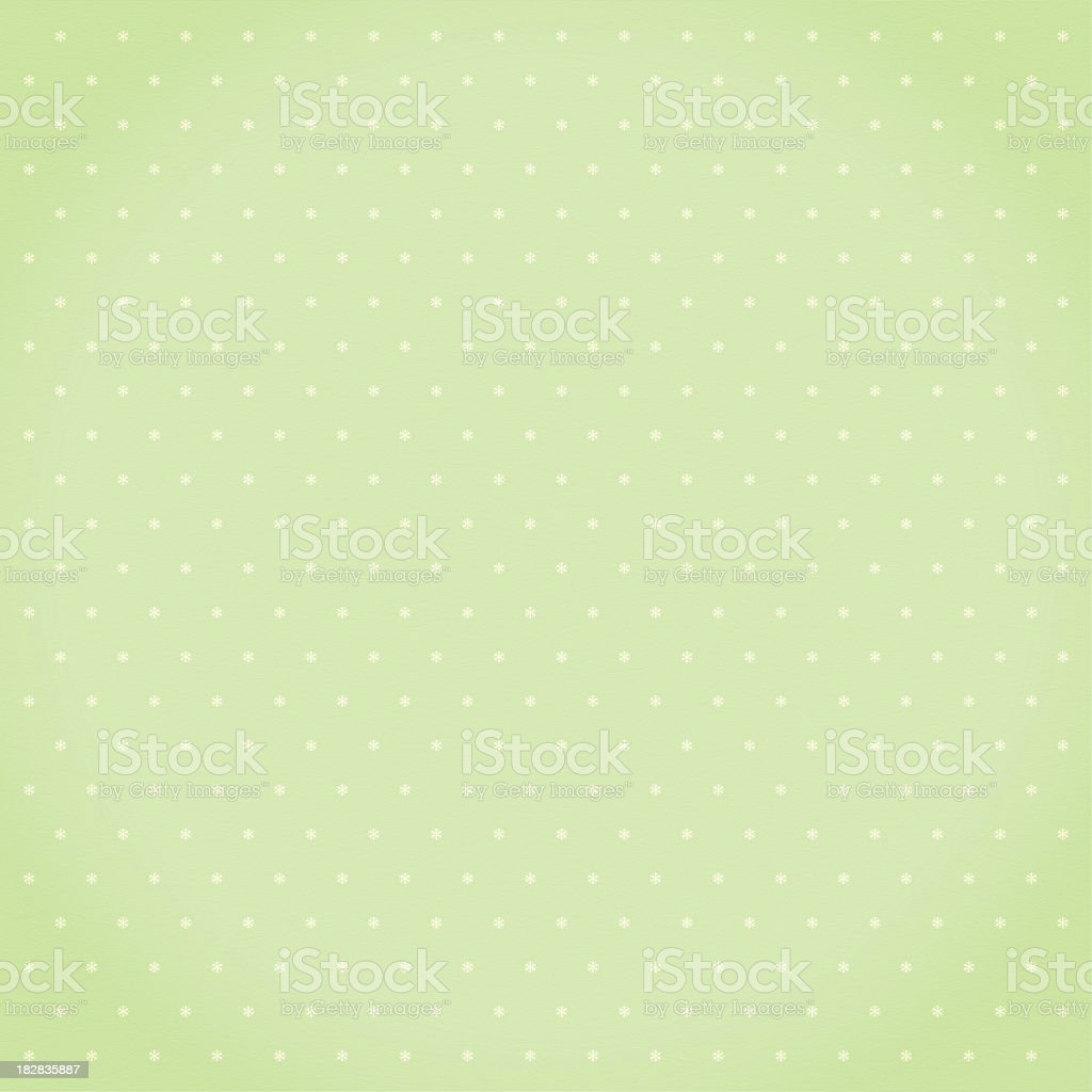 Green star pattern stock photo