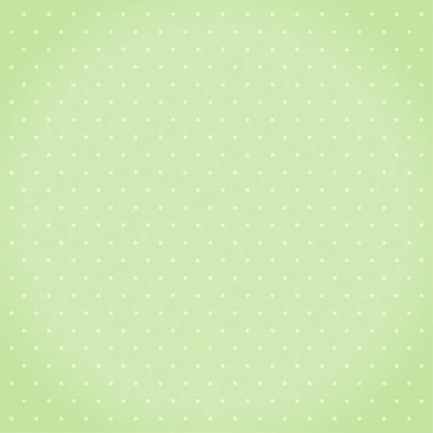Green star pattern stock photo