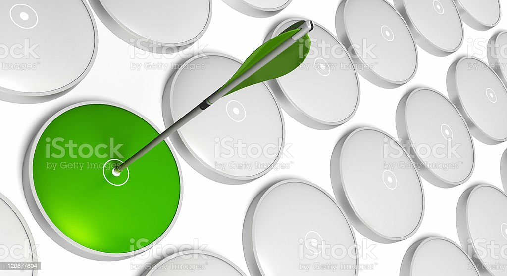 Green strategy - recruitment concept royalty-free stock photo