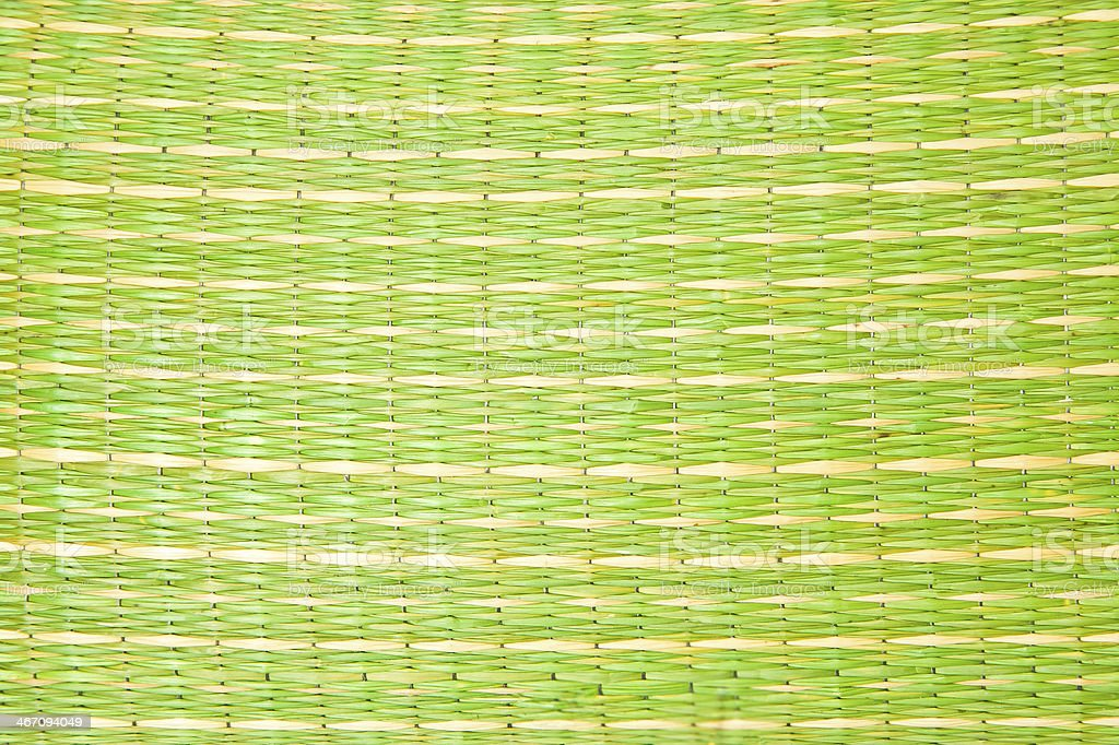 Green straw royalty-free stock photo