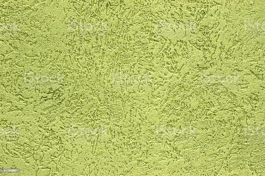 Green Stucco royalty-free stock photo