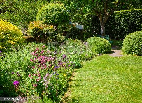 istock Green summer english garden Southern England UK 937295064