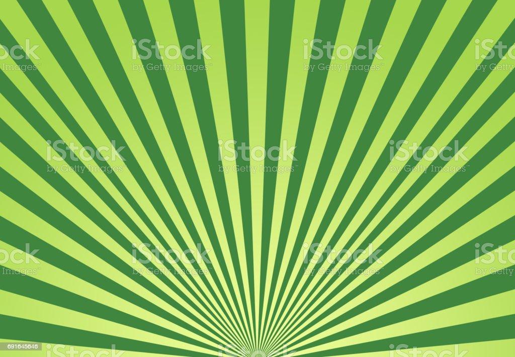 Sunbeam grün Hintergrund – Foto