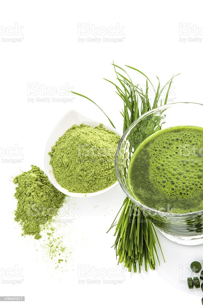 Green superfood. royalty-free stock photo