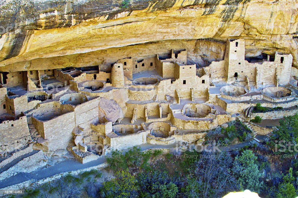 Mesa Verde stock photo
