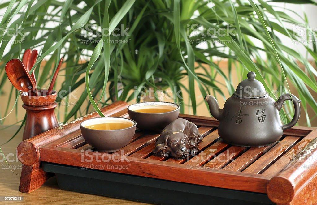 Green tea chinese royalty-free stock photo